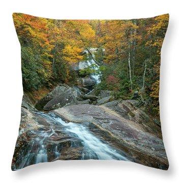 Upper Creek Autumn Paradise Throw Pillow