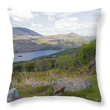Upper Lake Killarney National Park Throw Pillow