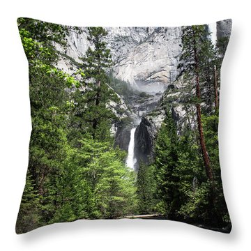 Upper Lower Throw Pillow by Ryan Weddle