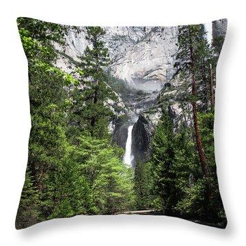 Upper Lower Throw Pillow