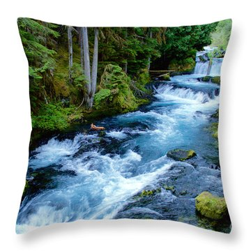 Upper Mckenzie Throw Pillow