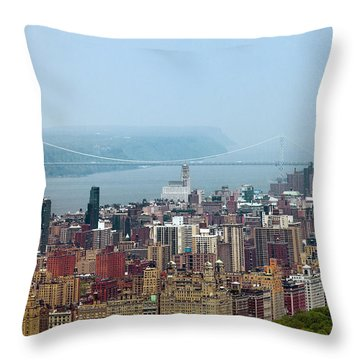Upper West Side Throw Pillow