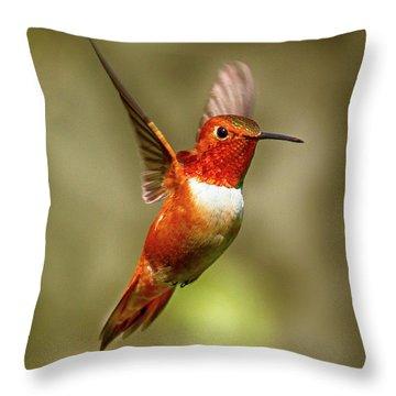 Upright Throw Pillow
