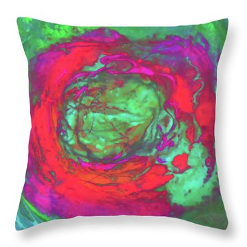 Uprising 5 Throw Pillow