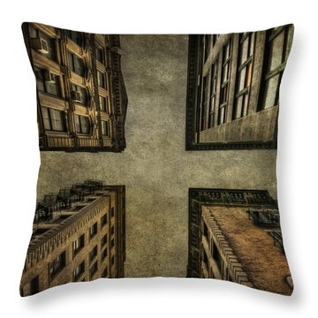 Uprising Throw Pillow
