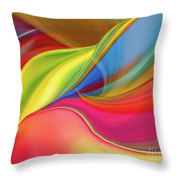 Upside Down Inside Out Throw Pillow