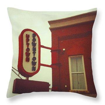 Uptown Downtown  Throw Pillow