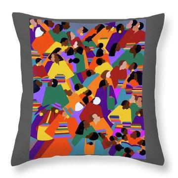Uptown Throw Pillow