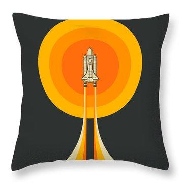 Space Ship Throw Pillows