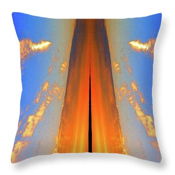 Upwards Two  Throw Pillow