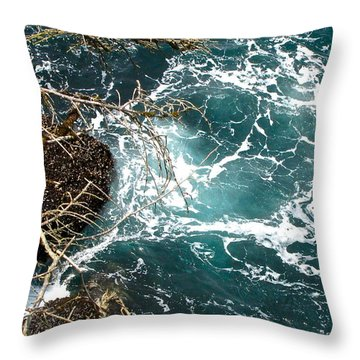 Throw Pillow featuring the photograph Upwelling by Sean Griffin