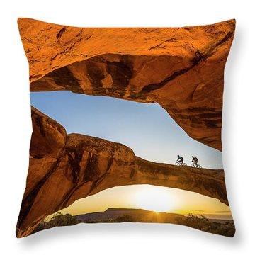 Uranium Throw Pillow