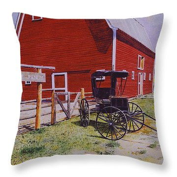 Ouray Ranch Throw Pillow