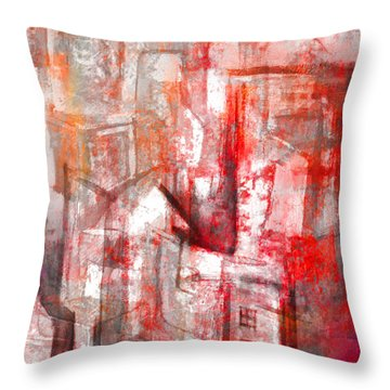 Urban #10 Throw Pillow