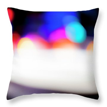 Throw Pillow featuring the photograph Urban Abstract by Eric Christopher Jackson
