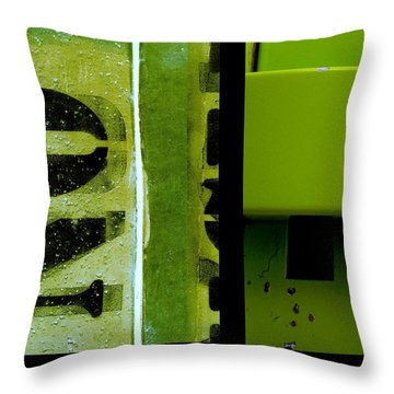 Urban Abstracts Seeing Double 40 Throw Pillow