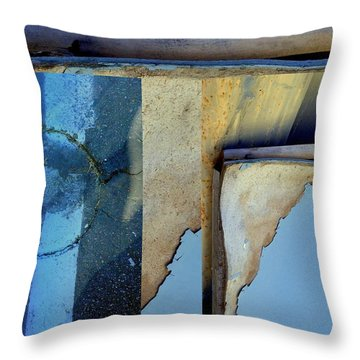 Urban Abstracts Seeing Double 62 Throw Pillow