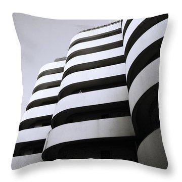 Urban Alienation Throw Pillow