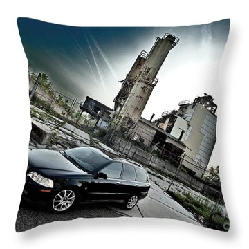 Urban Background Throw Pillow
