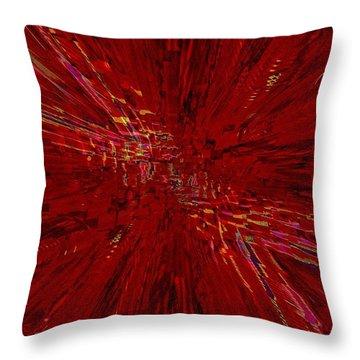 Urban Canyon Vertigo Throw Pillow by Tim Allen
