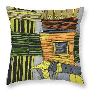 Urban Delight Throw Pillow by Sandra Church