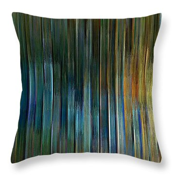 Urban Desert Throw Pillow