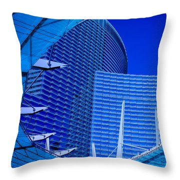 Urban Dusk Throw Pillow