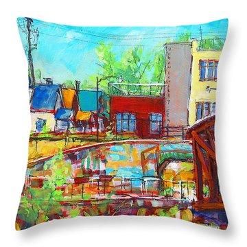 Urban Exposer Throw Pillow