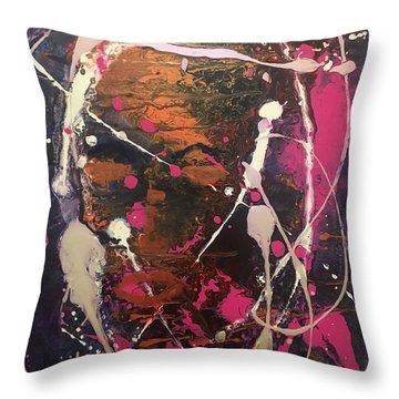 Urban Chic Throw Pillow