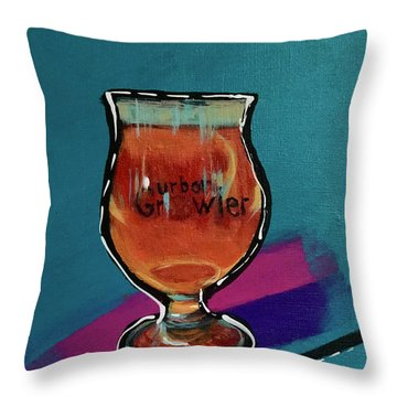 Urban Growler Throw Pillow