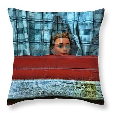 Urban Humor Throw Pillow by Allen Beatty