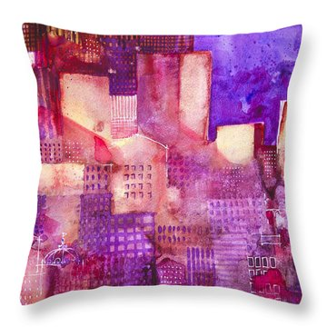 Urban Landscape 4 Throw Pillow by Alessandro Andreuccetti