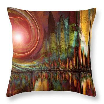 Urban Legend Throw Pillow by Kim Redd