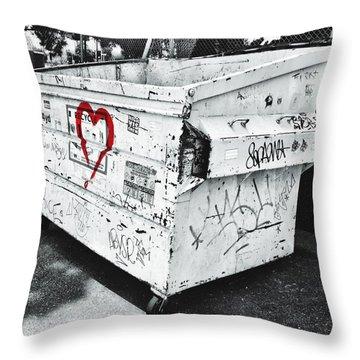 Urban Love Throw Pillow
