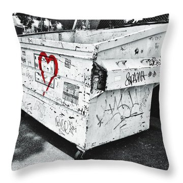 Urban Love Throw Pillow