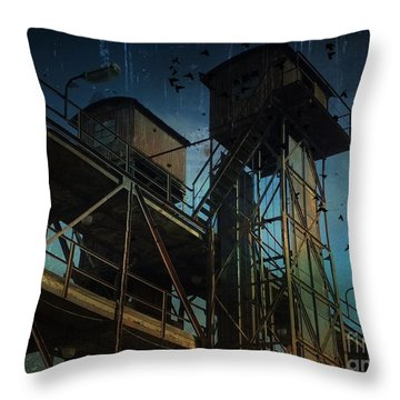 Urban Past Throw Pillow