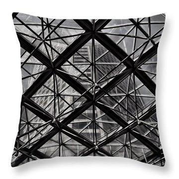 Urban Patterns - Sao Paulo  Throw Pillow