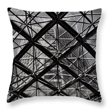 Urban Patterns - Sao Paulo  Throw Pillow