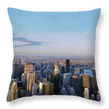 Urban Playground Throw Pillow