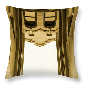 Urban Portals - Architectural Abstracts Throw Pillow