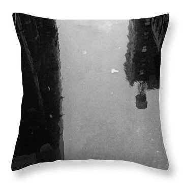 Urban Puddle Throw Pillow