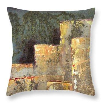 Urban Renewal II Throw Pillow