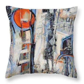 Urban Street 1 Throw Pillow