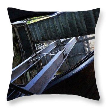 Urban Textures Throw Pillow