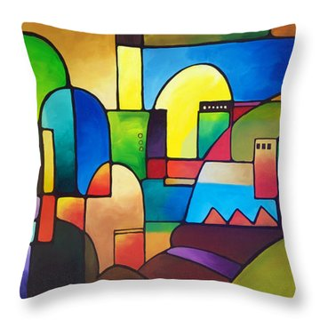 Urbanity 2 Throw Pillow