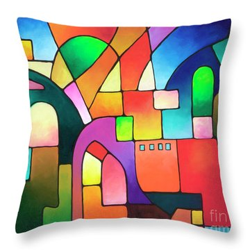 Urbanity Throw Pillow