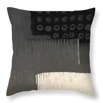 Throw Pillow featuring the mixed media Urbanized by Eduardo Tavares
