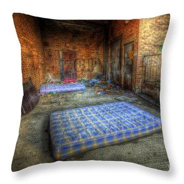 Urbex 1.0 Throw Pillow