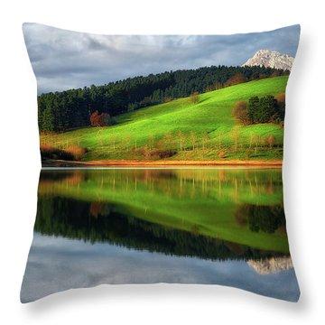 Urkulu Reservoir Throw Pillow