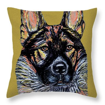 Urlike Gsd Throw Pillow